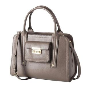 3.1 Phillip Lim | Large Taupe Grey Satchel Bag